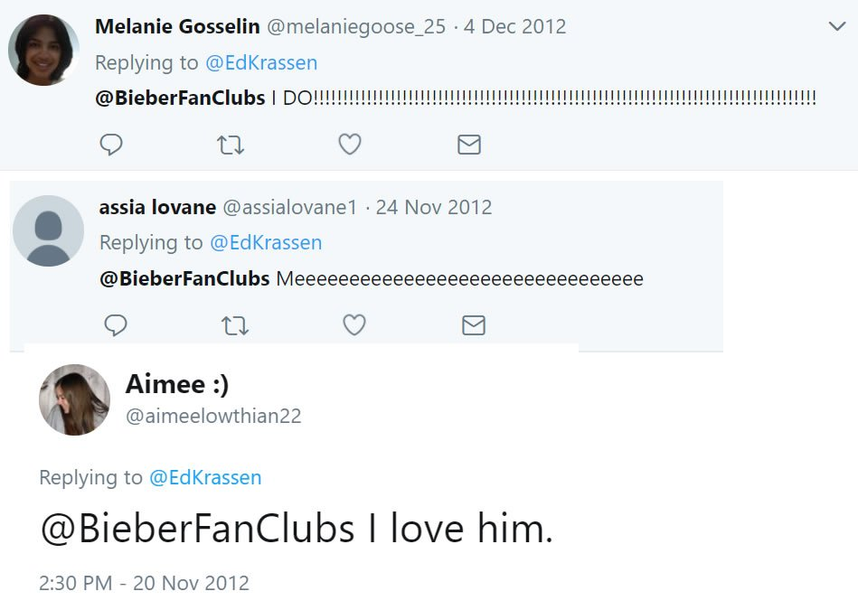 Justin Bieber Fans Club And Twitter Domination